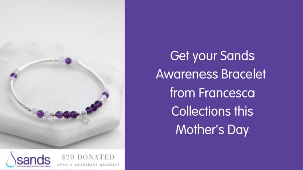 Sands Awareness Bracelet